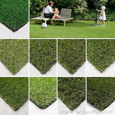 £44.90 • Buy Artificial Grass Quality FROM JUST £4.49/m² Cheap Realistic Garden Astro Turf