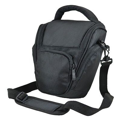 AX7 Black DSLR Camera Case Bag For Olympus E3 E5 E30 E620 E520 E500 E450 E400 • 13.90£