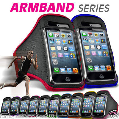 Quality Sports Armband Excersize Gym Running Jogging Workout Case Cover Pouch • 4.95£