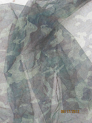 $16.85 • Buy Camo Net Military Issue  5 X 8 Woodland Camouflage Mesh Veil Netting Deer Blind