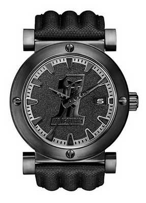 Harley-Davidson Men's Bulova Black #1 Racing Skull Wrist Watch 78B131 • 149.08£