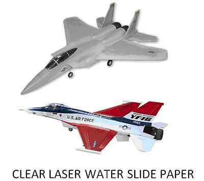 £3.99 • Buy Clear Laser Printer Water Slide Decal Paper X 1 A4