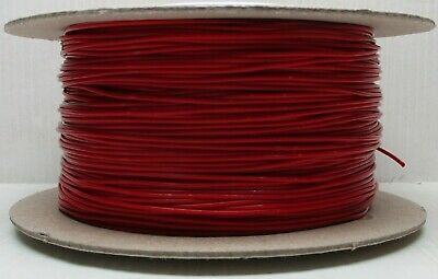 Model Railway/Railroad Layout/Point Motor Etc Wire 100m Roll 7/0.2mm 1.4A Red • 12.89£