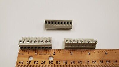 $3.65 • Buy Wieland 25.340.3953.1 PCB Female Connector 5.08mm, 9 Position, Pluggable, Grey