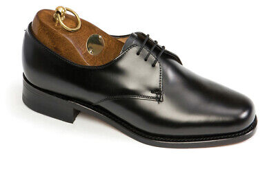 1 Pair New Sanders Women's Officers' Shoes, Uk-made, Size 10 • 99.99£