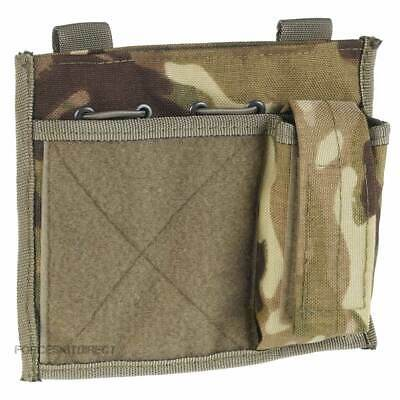 British Army Commanders Admin Panel Map Pouch MTP Multicam Molle Velcro Patch • 9.95£