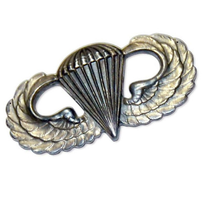 Us Army Metal Oxide Parachute Wings Para Wings Airborne Forces Insignia • 5.95£