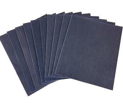 20 Assorted Sheets Of Emery Cloth Paper 60g 100g 150g - Various Sanding Grades • 4.99£