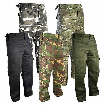 £16.95 • Buy Mens Army Military Cargo Combat TrousersCamo Camouflage Pants Airsoft Work