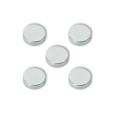 5 Chrome Cover Cap For Towel Radiators Blanking Plug And Air Vent Valve • 5.99£