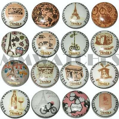 Vintage French Shabby Chic Paris Collection Ceramic Cupboard Door Knobs Drawer • 2.29£