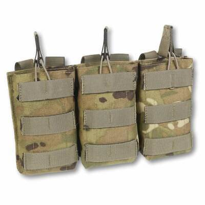 £19.95 • Buy British Army MTP MOLLE Ammo Pouch Triple Rifle Magazine Open Top Mag Pouches