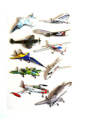 Plane, Jet Stickers For Kids, Children. For Party Bags, Craft, Decoration HM02 • 2.50£