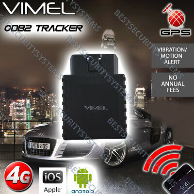 AU167 • Buy 4G GPS Tracker OBD2 Hardwired Power Real Live Tracking Device Anti Theft Car 3G