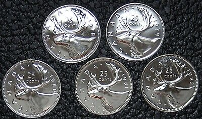 canadian quarter set