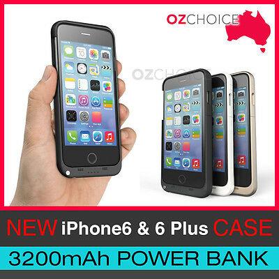 AU17.99 • Buy NEW IPhone 6/6S/6Plus/6PlusS  Backup Battery Charger Case Cover  External  Power