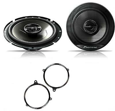 Toyota Avensis 03-09 Pioneer 17cm Rear Door Speaker Upgrade Kit 240W • 42.49£