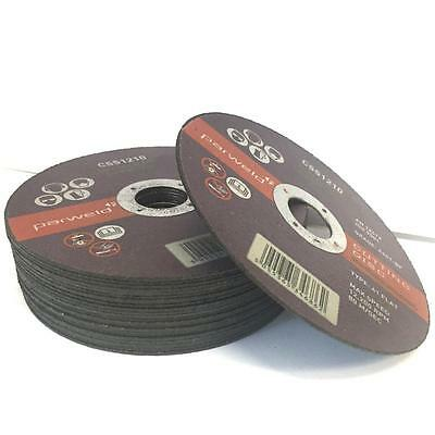 £6.59 • Buy (PACK OF 10) Parweld (5 ) 125mm X 1mm Thin Stainless Steel Metal Cutting Discs