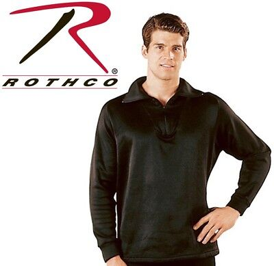 $25.99 • Buy Black Military ECWCS Cold Weather Thermal Polyester H.W. Top Only Rothco 6240