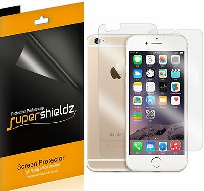 AU10.29 • Buy 6X Supershieldz Front & Back Anti Glare Matte Screen Protector For IPhone 6 Plus