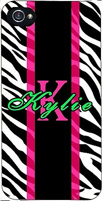 £11.58 • Buy Custom Zebra IPhone 4 5 5c 6 Galaxy S4 S5 S6 S7 Personalized Printed Rubber Case