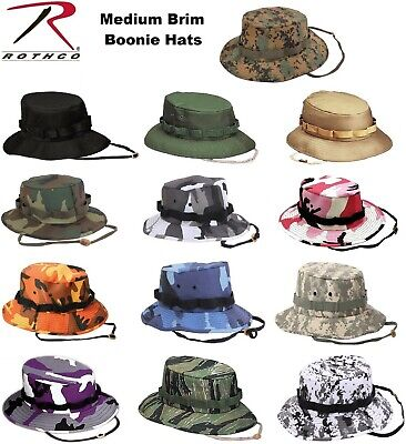 b9e3dcb71fc Rothco Military Style Boonie Hat Camping Hunting Jungle Boonie Bush Hats •  10.99