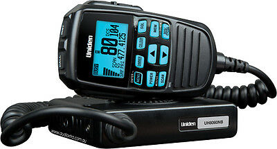 AU297 • Buy UNIDEN UH8060S 5w 80 CHANNEL LCD SPEAKER MICROPHONE UHF RADIO+CARS TRUCK 4WD'S