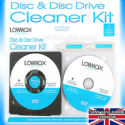 £5.34 • Buy Laser Lens Cleaner Consoles Fluid PS3 PS2 XBOX 360 BLU RAY DVD CD Clean DISC PS4
