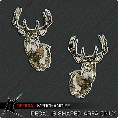$11.99 • Buy Camouflage Whitetail Deer Decal Sticker Big Buck Rack For Hoyt Mathews Elite PSE