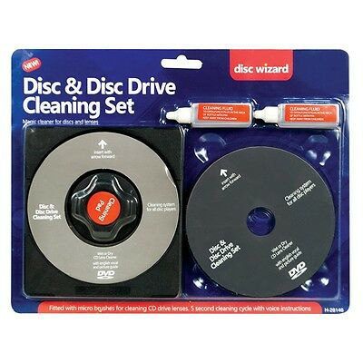 Laser Lens Cleaner Cleaning Kit For PS2 PS3 XBOX 360 BLU RAY DVD CD DISC PLAYER • 3.89£