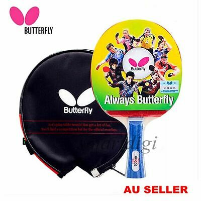 AU32.45 • Buy Butterfly TBC201 Long Handle Table Tennis Ping Pong Racket Bats Shakehand FL