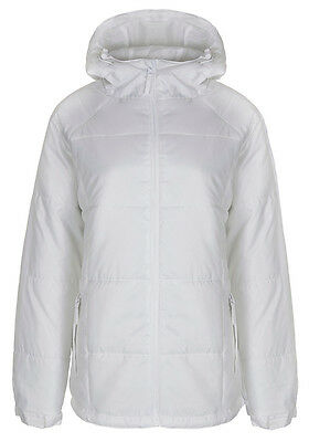 Peter Storm Womens Warm Hooded Winter Parka Coat New White Padded Jacket & Hood  • 8.99£
