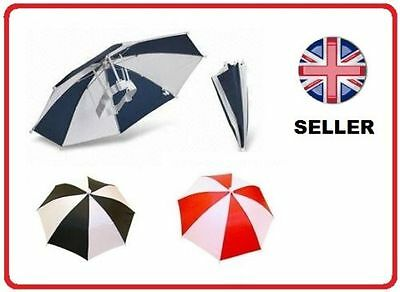 AU5.32 • Buy Umbrella Hat Cap For Golf Fishing Camping Kids Fancydress Foldable Brolly