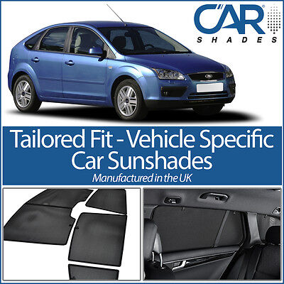 £78.19 • Buy Ford Focus 5dr 04-11 CAR WINDOW SUN SHADE BABY SEAT CHILD BOOSTER BLIND UV