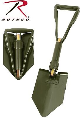 $16.99 • Buy Military Style Tri-Fold Shovel Survival Camping Scouting Entrenching Tool 828