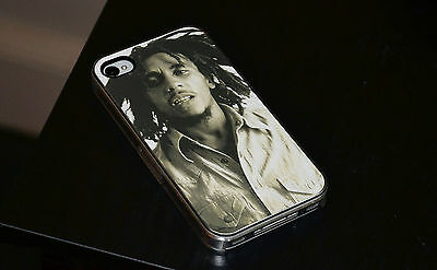 Bob Marley BW Hard Phone Case Fits IPhone 4 4s 5 5s 5c 6 • 6.93£