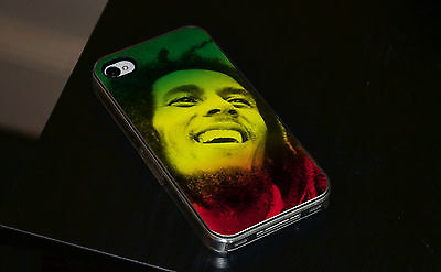 Bob Marley Colours Hard Phone Case Fits IPhone 4 4s 5 5s 5c 6 • 6.93£