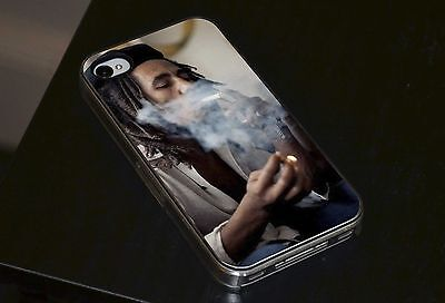 Bob Marley Ganja Smoke Hard Phone Case Fits IPhone Samsung • 6.93£