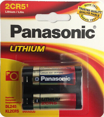 $ CDN9.75 • Buy Panasonic 2CR5 6V Lithium Photo Battery, DL45, KL2CR5, 5032LC