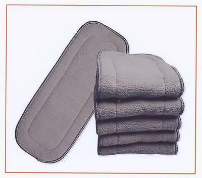 AU34.28 • Buy 10x Charcoal Inserts For Modern Cloth Nappy Insert Charcoal For MCN 11x28cm New