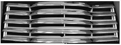 $415 • Buy Grille Chrome/Painted-Milk White Assembly W/ Rear Bracket For 47-53 Chevy Pickup