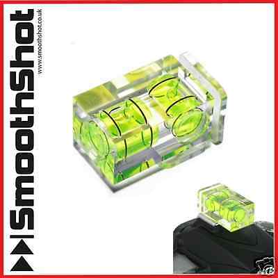 £3.49 • Buy Two Axis Double Bubble Spirit Level Flash Hot Shoe Mount For Dslr Camera