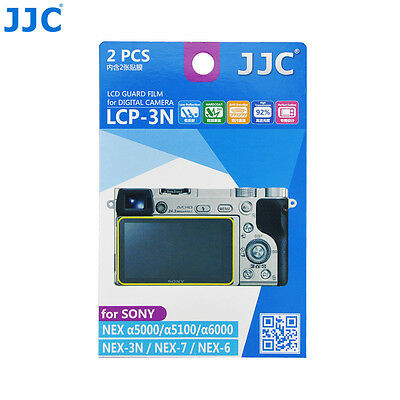 AU7.71 • Buy JJC 2PCS LCD Screen Protector Film For Sony A6500 A6400 A6300 A6000 A5100 A5000