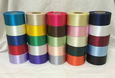 £1.65 • Buy 1 Metre X 45mm Polyester Ribbon For Cake Decorating/Ribbon Crafts - 25 Colours