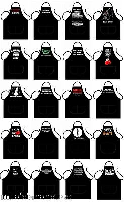 Novelty Aprons Bbq Rude Funny Chef Cooks Kitchen Party Christmas Present Gift • 8.99£