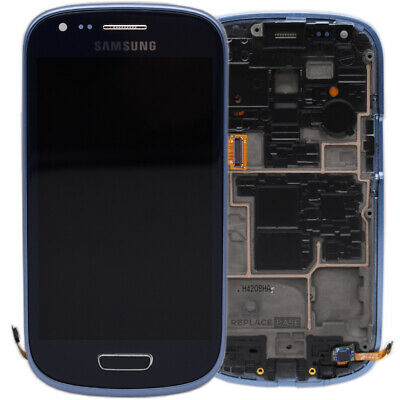 LCD Screen For Samsung Galaxy SIII Mini S3 Blue Replacement Digitizer Assembly • 27.60£