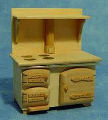 Dolls House Bare Wood Stove 12th Scale  • 8.49£