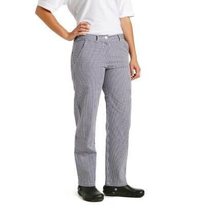 £16.27 • Buy Whites Womens Ladies Chef Trousers Check 38In Pants Bottoms Uniform Cloth