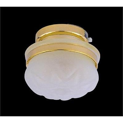 £11.95 • Buy Dolls House 3V LED Frosted Ceiling Light 1/12th Scale DE313