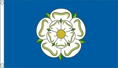 Yorkshire Flag 3x2 3ft X 2ft With Two Metal Eyelets York Rose • 2.95£